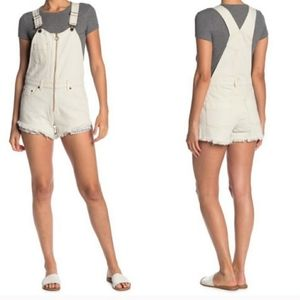 Free People Sunkissed Shortall Denim